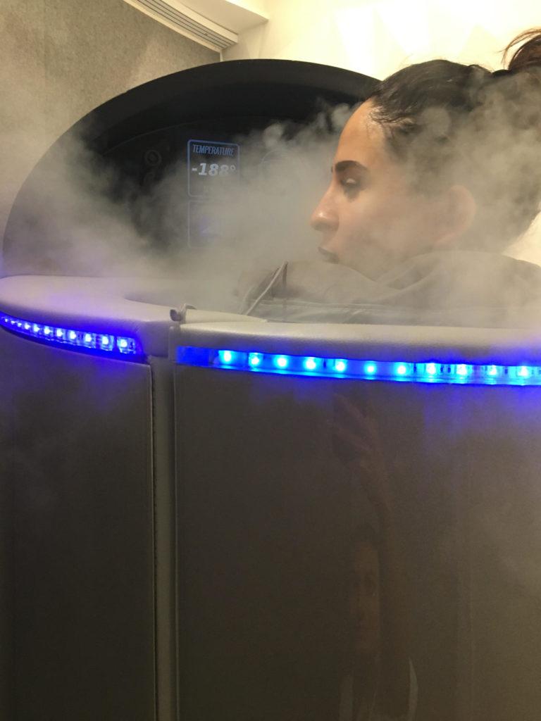 La cryothérapie, J'ai congelé mon corps !