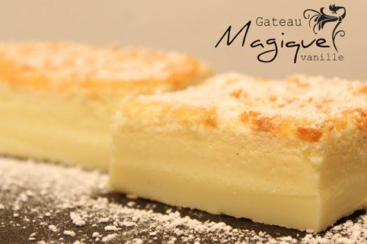Recette du gâteau magique !